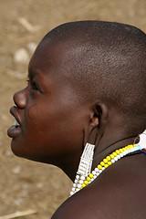 Maasai ornaments (imanh) Tags: africa woman tanzania ornament ear afrika massai maasai vrouw iman oor heijboer masaï imanh