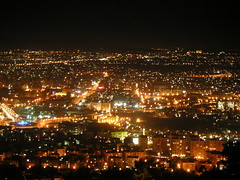 "Golden Night . . . By ""DAMASCUS"" (C & More) Tags: city night capital noflash syria damascus goldennight"