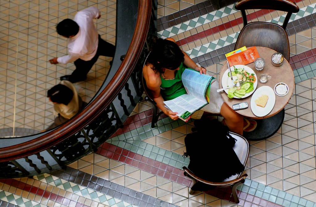 Lunch at QVB
