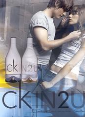Calvin Klein's ckIN2u moet jongere weer aan parfum brengen