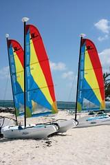 Sails (desbah) Tags: vacation beach water bahamas cococay