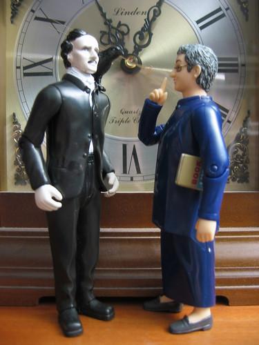 Nancy Shushes Edgar Allan Poe