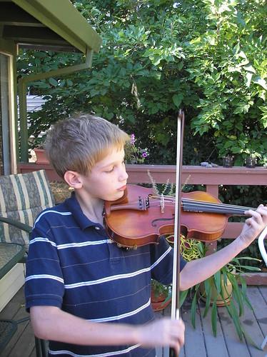 new violin 1