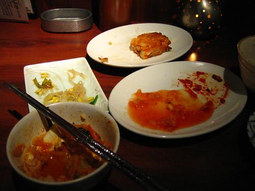 韓国料理 Korean Food for Dinner