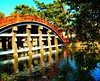 red line (M. TANIGUCHI) Tags: bridge red sky tree japan shrine osaka aclass blueribbonwinner mywinners favoritegarden topogigio2007
