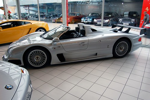Mercedes Benz CLK GTR, luxury car