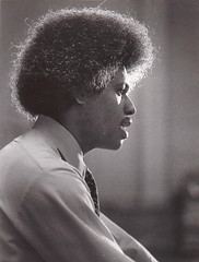Ted Blunt with 1970's Afro