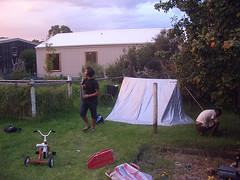 Tent in Apollo Bay (triplife) Tags: australia outback apostles