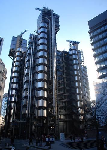 El futuro está aquí: Lloyds Building
