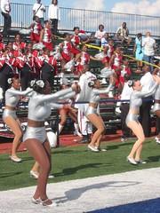 WSSU SCARLET LACE Dancers (Kevin Coles) Tags: 2005 washingtondc football university dancers howard band wdc showtime rams bison hu hbcu winstonsalemstate meac ciaa rsos wssu redseaofsound