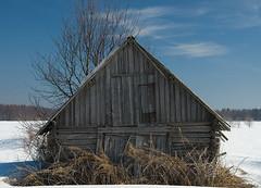 Lato (mattisj) Tags: winter barn landscape hay talvi maisema lato tornio heinä