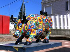 The colored buffalo 2 , Osfiya (vad_levin) Tags: sculpture art buffalo carmel hdri druz osfiya