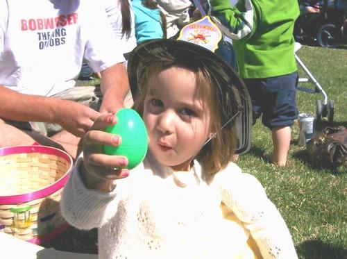 Easter Egg Huntress