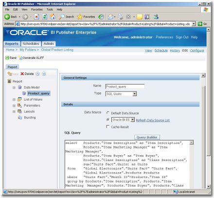 Siebel Analytics en Oracle BI EE