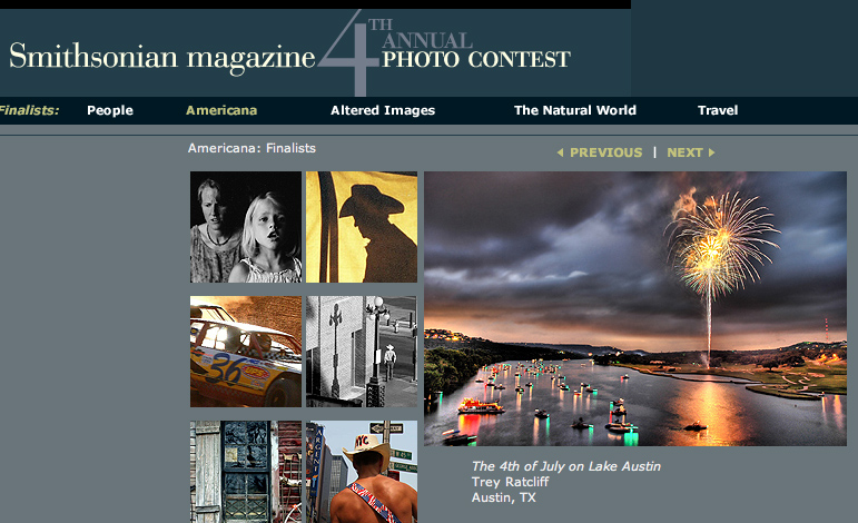 Smithsonian Contest Top Ten Winner - Americana