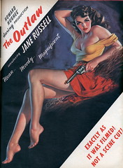 The Outlaw (jinxdefenestrated) Tags: vintage ads women russell jane