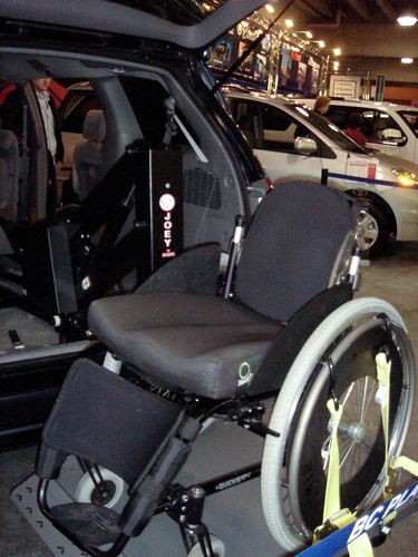 Toyota's Attempt at Wheelchair Access