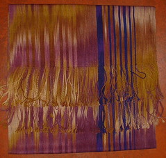 Silk shawl April 2007