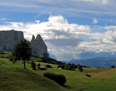 Weather forecast (Pete M.) Tags: sky italy clouds symbol explore dolomites 43 siusi naturesfinest schlern seiseralm cotcmostfavorited compatsch holidayvacanzeurlaub travelerphotos