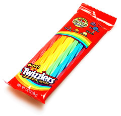 Twizzlers Rainbow Twists Package
