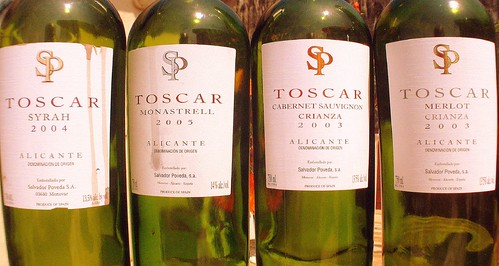 Toscar Line Up - Salvador Poveda