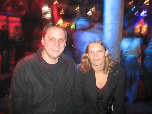 Mike Arrington and Karin Loeffen