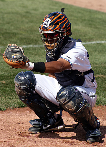 Whitecaps Catcher James Skelton