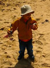 Seb at the Beach