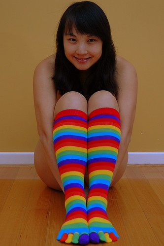 Share your Girls nude in toe socks