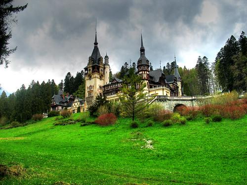 Peles Castle, Sinaia, Romania!