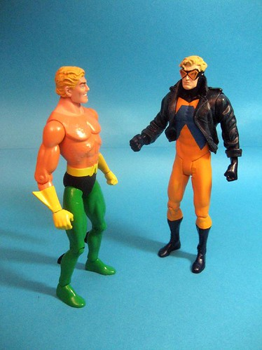 Aquaman and Animal Man