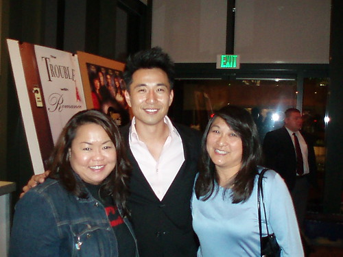 celia and berda with james kyson lee