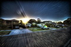 Neighbourhood meets Star Wars (alexkess) Tags: street sunset sun como home geotagged star nikon sydney may australia plazes nsw myhouse flare wars d200 shire mystreet 5th neighbourhood hdr 2007 lightroom 050507 photomatix sutherlandshire 24hoursofflickr plazebfbf875c68fcfccd435dee2e05b905ba geo:long=15106362024086 geo:lat=34004141687769