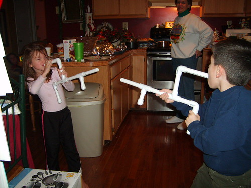 2006-Enjoying marshmallow guns