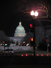 Capitol as Seen From Louisiana Ave and North Capitol St
