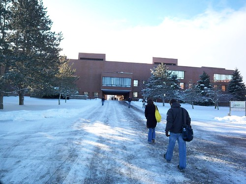 Winter's Walk: Getting closer to Building 7