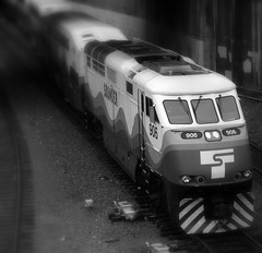Sounder commuter train in Seattle - by TroyMason