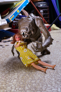 Rancor Courts Barbie