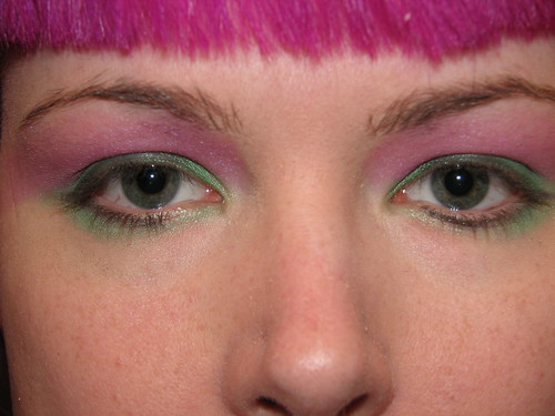 Pink black eyeshadow eyelash makeup pictures gallery