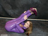 Pc110120040035 copie (AlainG) Tags: las vegas usa 2004 fetish amber purple models bondage bdsm convention heels latex stiletto kinky catsuit michaels bondcon