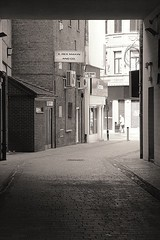 the side street (Maddie Digital) Tags: liverpool mono beatles citycentre capitalofculture nems 123bw epstien 1960w
