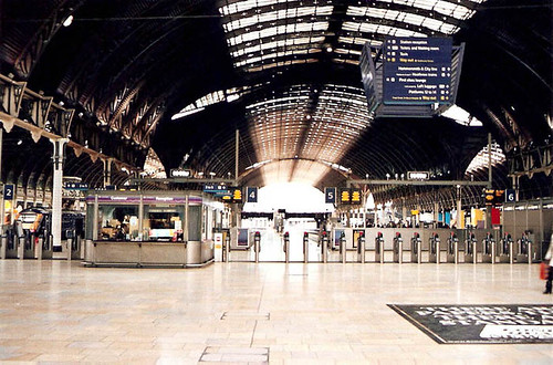 Paddington Station Londres