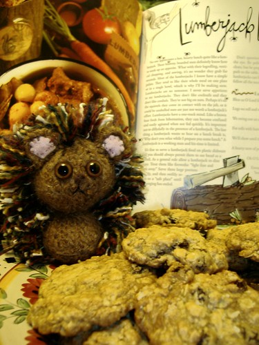 Hedgehog and Lumberjack's Vanishing Oatmeal Raisan Cookies