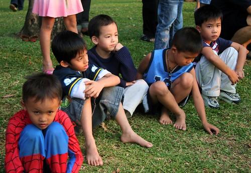 Kids, Lumpini Park