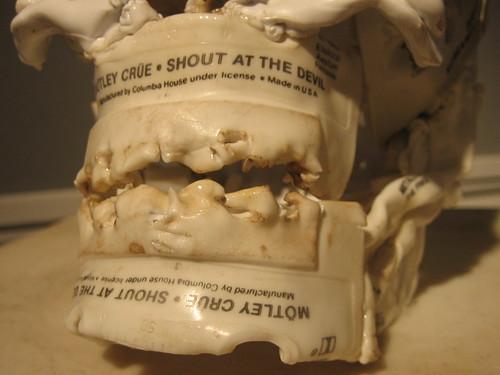 Cassette Tape Skeleton by Brian Dettmer