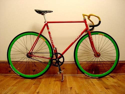 My Lejeune Track Bike