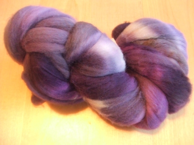 Spunky Eclectic Purple Haze Mixed Wool