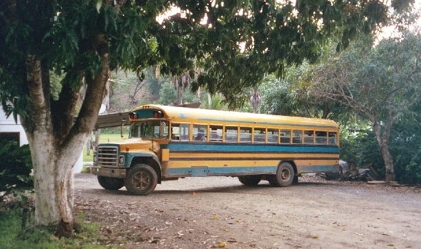 Costa Rican bus