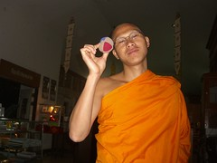 Monk with Juggling Ball