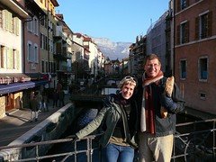 Fiona and Peter in Annecy